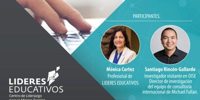 Streaming webinar Lideres Educativos Valparaíso – Making Of